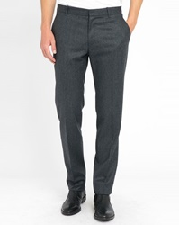 Ikks Grey Flannel Trousers