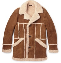 Tom Ford Shearling Jacket Brown