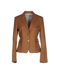 M.Grifoni Denim Suits And Jackets Blazers Women Brown
