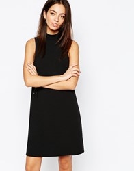 New Look Funnel Neck Tunic Black