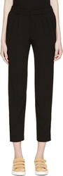 Band Of Outsiders Black High Waisted Trousers