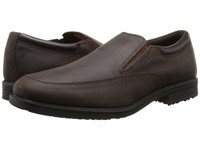 Rockport Essential Details Waterproof Slip On Dark Tan Men's Slip On Shoes Brown