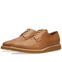 Common Projects Derby Shine Perforated Brown