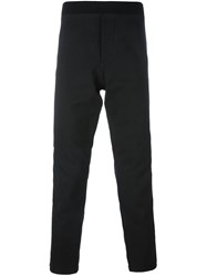 Mcq By Alexander Mcqueen Zipper Detail Track Pants Black