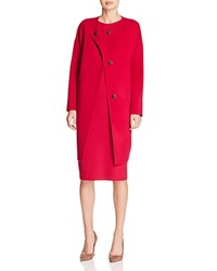 Elie Tahari Sammy Drop Shoulder Coat Winter Blossom