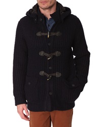 Menlook Label Aaron Notte Thick Knit Coat