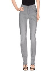 Cambio Denim Denim Trousers Women Light Grey