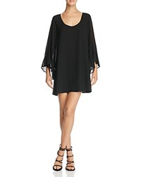 Show Me Your Mumu Boomerang Low Back Dress Black Chiffon