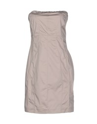 Dek'her Dresses Short Dresses Women Grey