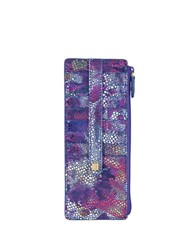 Lodis Vanessa Variety Zipper Leather Credit Card Case Multi Colored