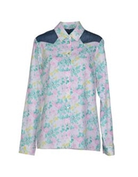 Silvian Heach Shirts Light Pink