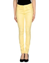 Hudson Denim Pants Yellow