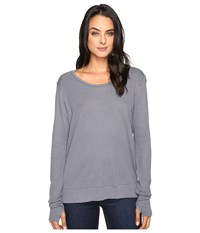 Lamade Conway Thermal Top Pewter Women's Clothing
