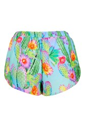 Cactus Print Shorts By Jaded London Multi