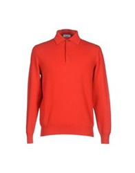 Cains Moore Sweaters Red