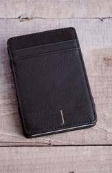 Cathy's Concepts 'Magic' Personalized Leather Wallet