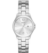 Dkny Ny2365 Parsons Stainless Steel Watch Silver