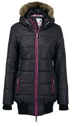 Superdry Sports Tall Puffer Jacket Black