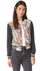 Sol Angeles Camo Floral Bomber Multi