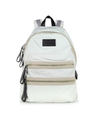Marc By Marc Jacobs Domo Arigato Classic Talc Cotton Backpack Ivory