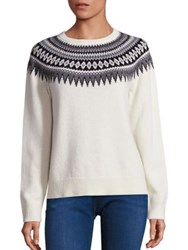 Vineyard Vines Yoke Fairisle Crewneck Sweater Frost