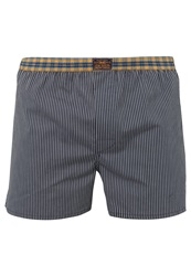 Tom Tailor Atlantic Boxer Shorts Navy Dark Blue