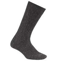 John Lewis Made In Italy Cashmere Socks Charcoal
