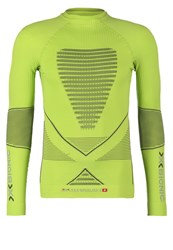 X Bionic Energy Accumulator Long Sleeved Top Green Lime Charcoal