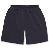 Beams Plus Mid Length Swim Shorts Blue