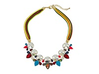 Gypsy Soule Dn582 Blue Pink Yellow Necklace Multi