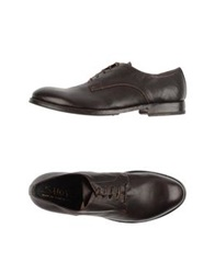 Shoto Lace Up Shoes Dark Brown