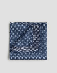 French Connection Conection Pocket Square Navy