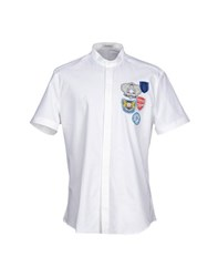 Bikkembergs Shirts Shirts Men White