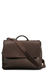Shinola Men's Canvas And Leather Messenger Bag Brown Deepbrown