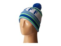 Neff Champion Beanie Lime Navy Beanies Green