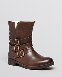 Inuovo Booties Let On Brown