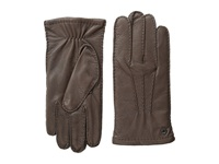 Cole Haan Handsewn Deerskin Glove Brown Over Mits Gloves