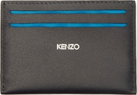 Kenzo Navy And White Monument Card Holder