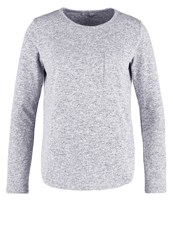 Ltb Salopa Jumper Mid Grey Muline