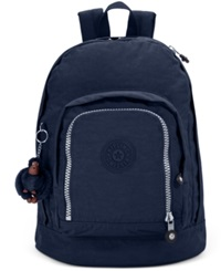 Kipling Hal Expandable Backpack True Blue