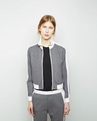 3.1 Phillip Lim Trapunto Track Jacket Grey