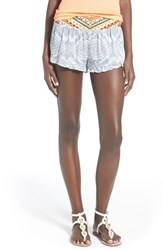 Junior Women's Rip Curl 'Mayan Sun' Shorts