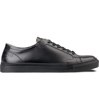Piola Black Black Ica Low Top Sneakers