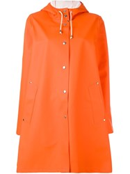 Stutterheim 'Mosebacke' Raincoat Yellow And Orange