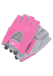 Nike Performance Fundamental Fingerless Gloves Vivid Pink Cool Grey White