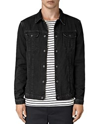 Allsaints Storr Denim Jacket Black