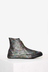 Nasty Gal Chuck Taylor All Star Iridescent Shroud High Top Sneaker