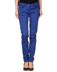 Dek'her Casual Pants Dark Blue