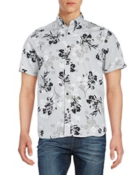 Howe Floral Sportshirt Night Shade
