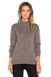 Ag Adriano Goldschmied X Alexa Chung Scotland Sweater Gray
